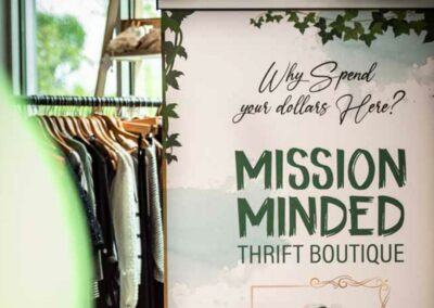 Picture Showing the Mission of Freedom Boutique