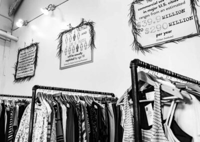 Photo Showing the Goals and Objectives of the Freedom Boutique